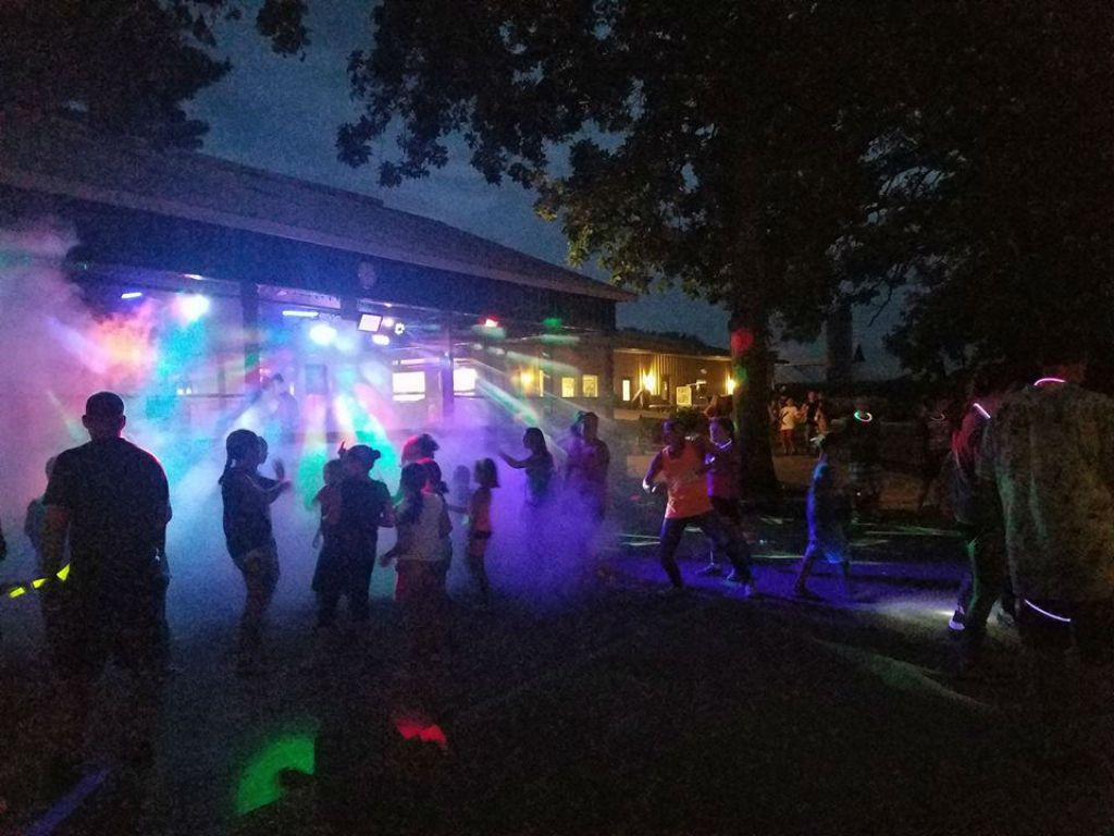 Glow Stick Dance Party